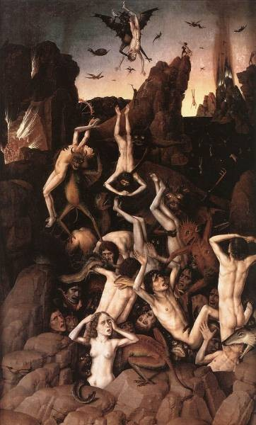 BOUTS Dieric the Elder Hell